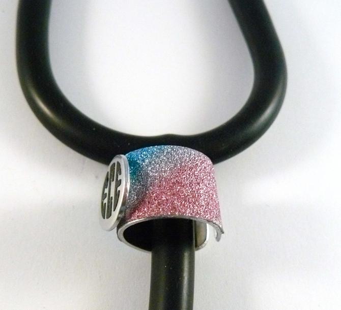 glitzy rainbow cuff