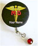 MD ID badge