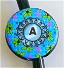 Flower Doodle Blue