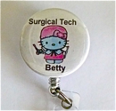 Surgical Tech Hello Kitty