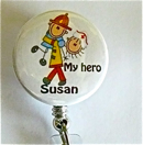 Firefighter My Hero/Nurse