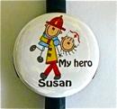 Firefighter My Hero/Nurse