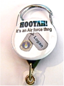 HOOYAH AIR FORCE THING
