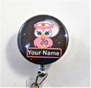 Nurse Owl  pink