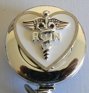 RN Caduceus Heart