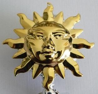 Electroplated Sun