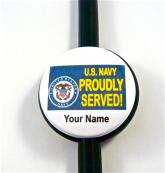 PROUDLY SERVED NAVY