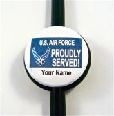 PROUDLY SERVED Air Force