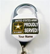 PROUDLY SERVED ARMY
