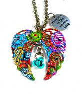 Rainbow Guardian Angel wings