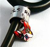 stethoscope ID tag artful dog