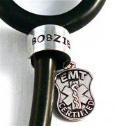 stethoscope I tag EMT certified