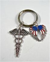 USA Medical keyring
