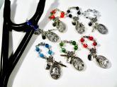 evil eye hanging rosary